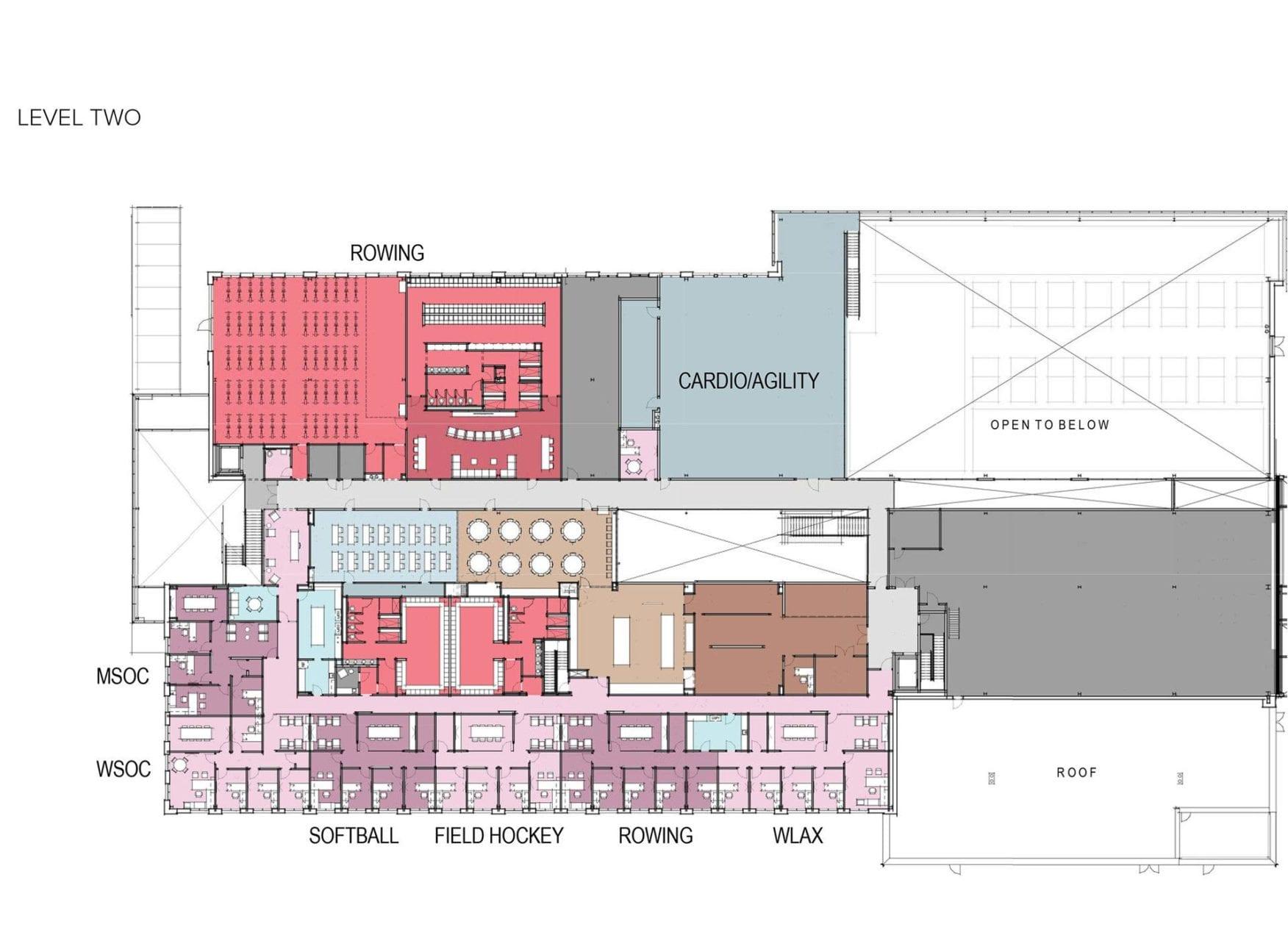 100 Athletic Training Room Floor Plan Campus