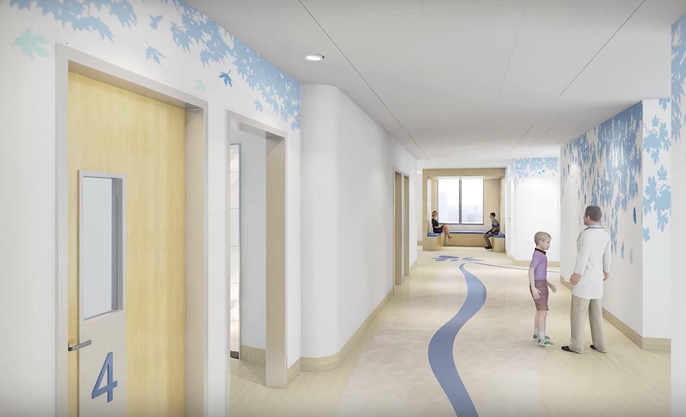 get a sneak peek inside the new big lots behavioral health pavilion. Black Bedroom Furniture Sets. Home Design Ideas