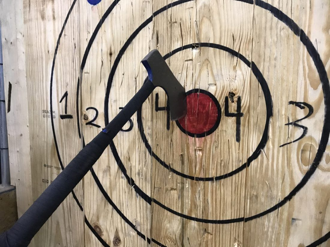 Columbus Urban Axe Throwing Is The Thing You Didn T Know