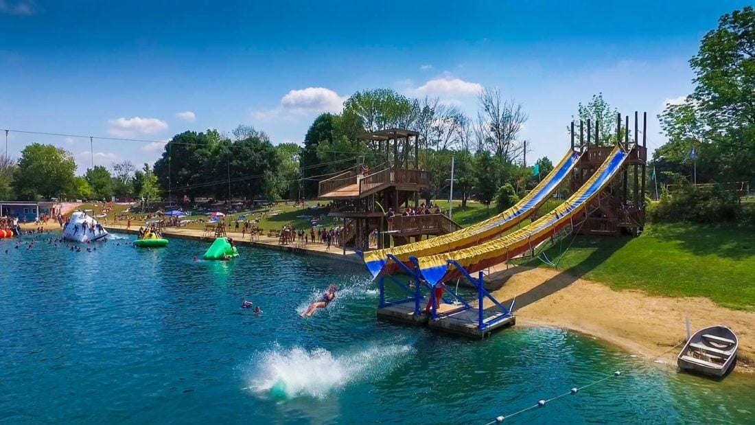 Here's Where You Can Splash Around At The Best Water Parks In Ohio