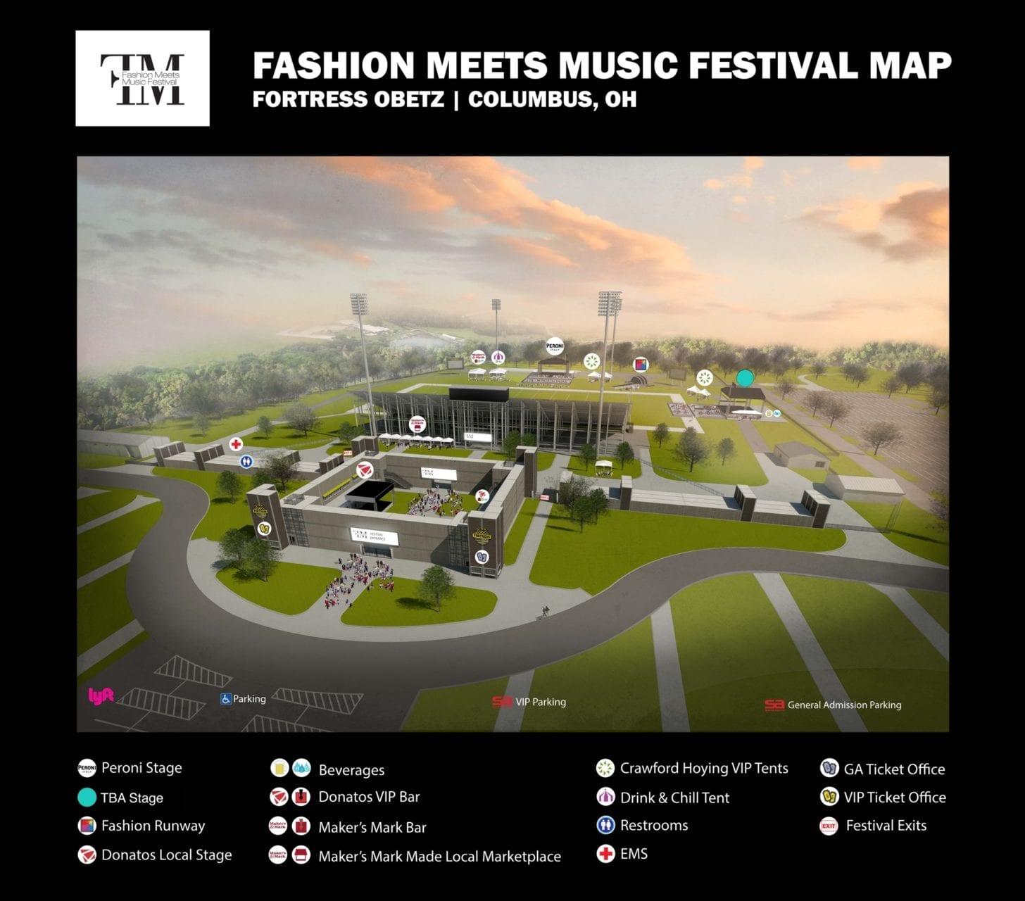 Fashion Meets Music Festival  Lineup
