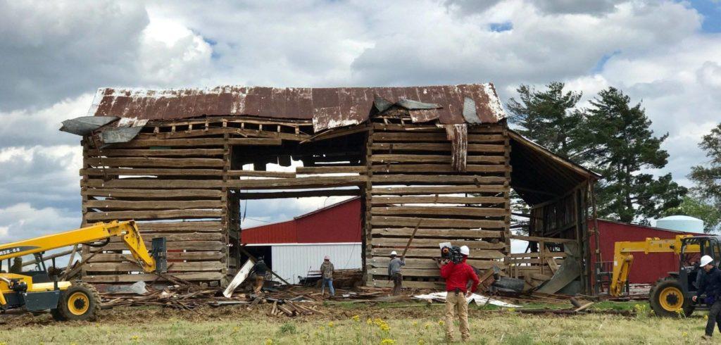 DIY Network's Barnwood Builders Features A Barn 30 Miles