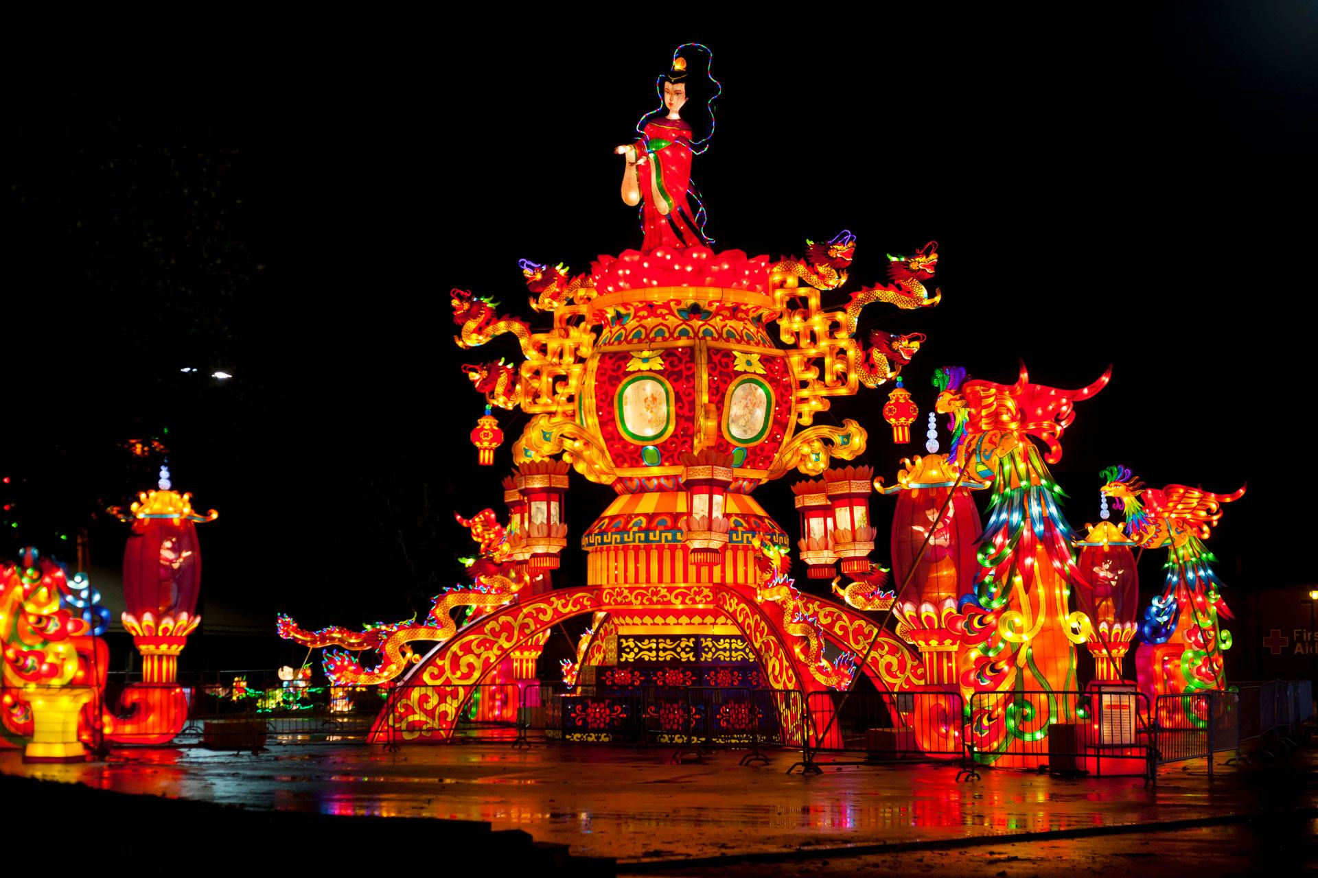 the ohio state chinese lantern festival kicks off this weekend