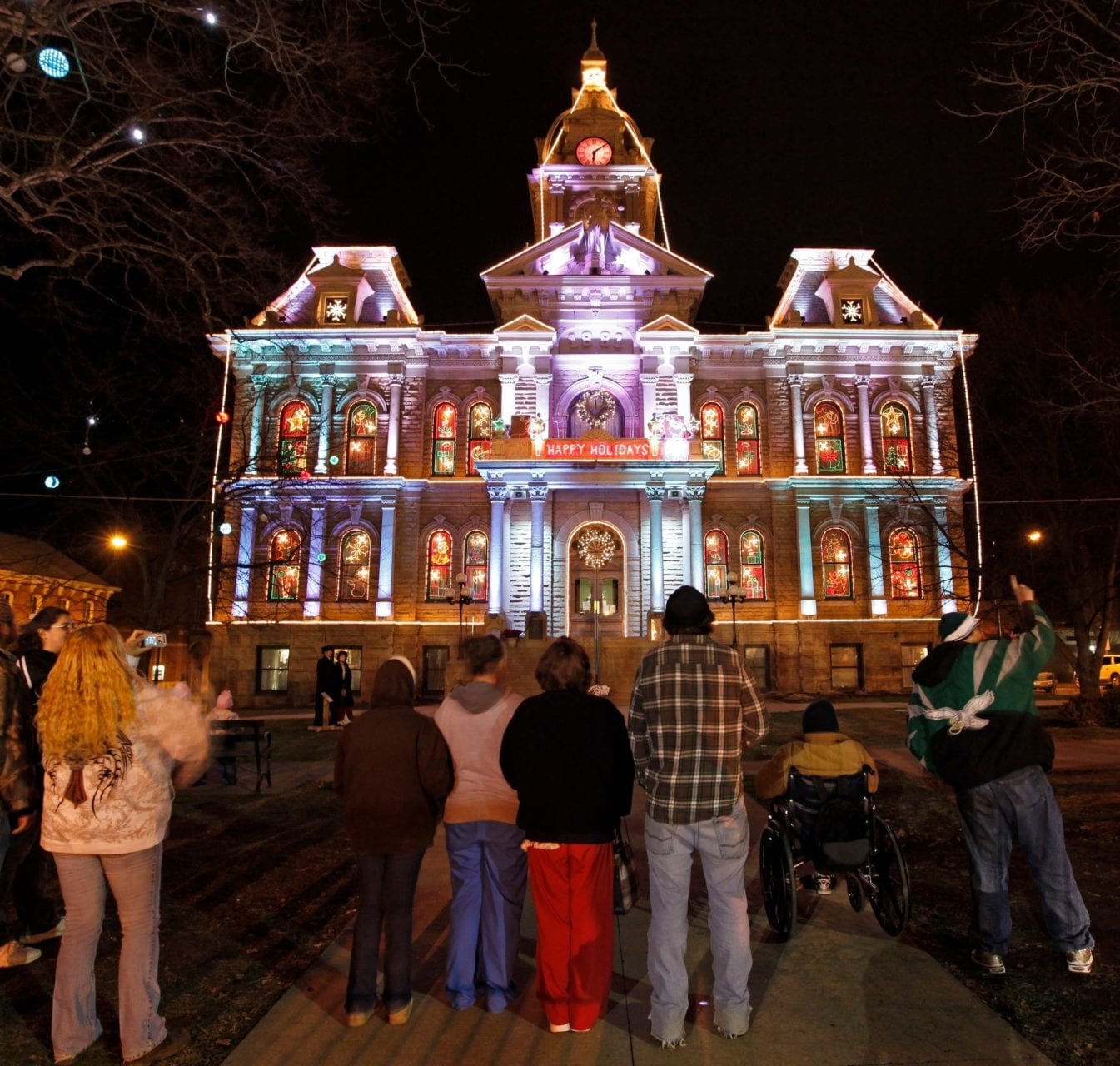 7 magical christmas towns villages in ohio Columbus home and garden show 2017