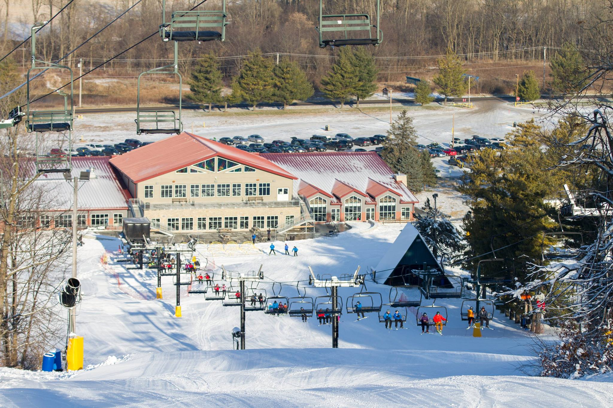 winter break just got cooler: mad river mountain is open for the season