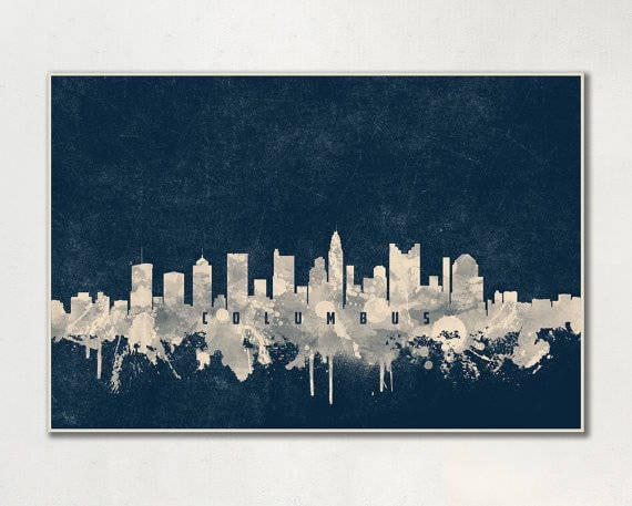 14 Columbus Skyline Prints Your Home Decor Needs Right Now