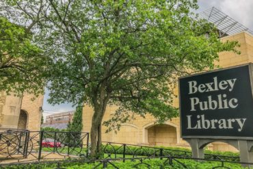 Bexley public library sign