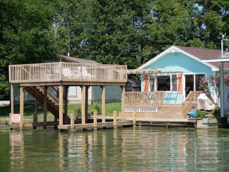 Spend The Weekend At This Whimsical Waterfront Cottage At Indian Lake