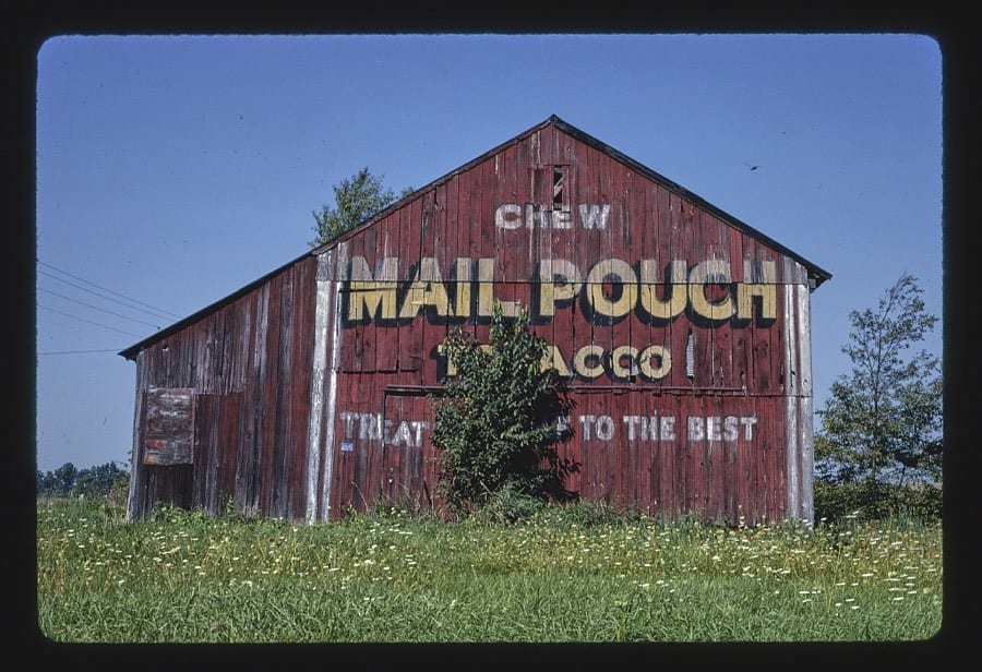 Mail Pouch Barn, Route 30, Riceland, Ohio