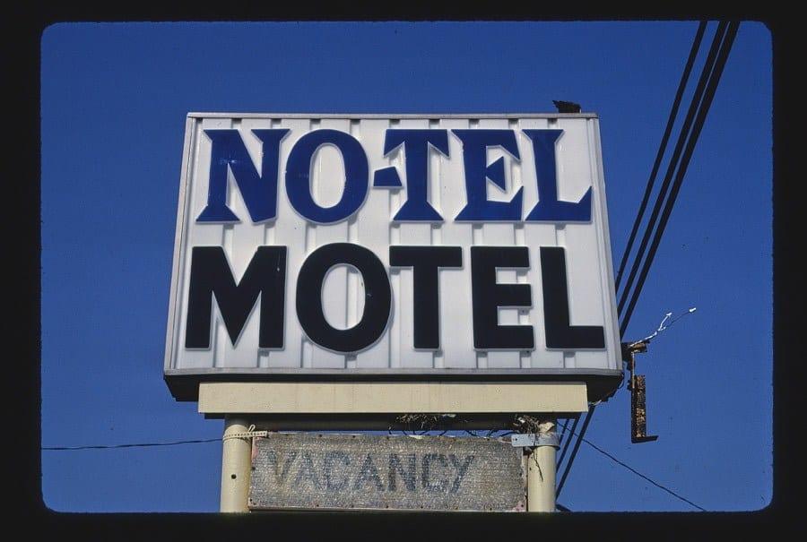 No-Tel Motel sign, Route 172, Massillon, Ohio
