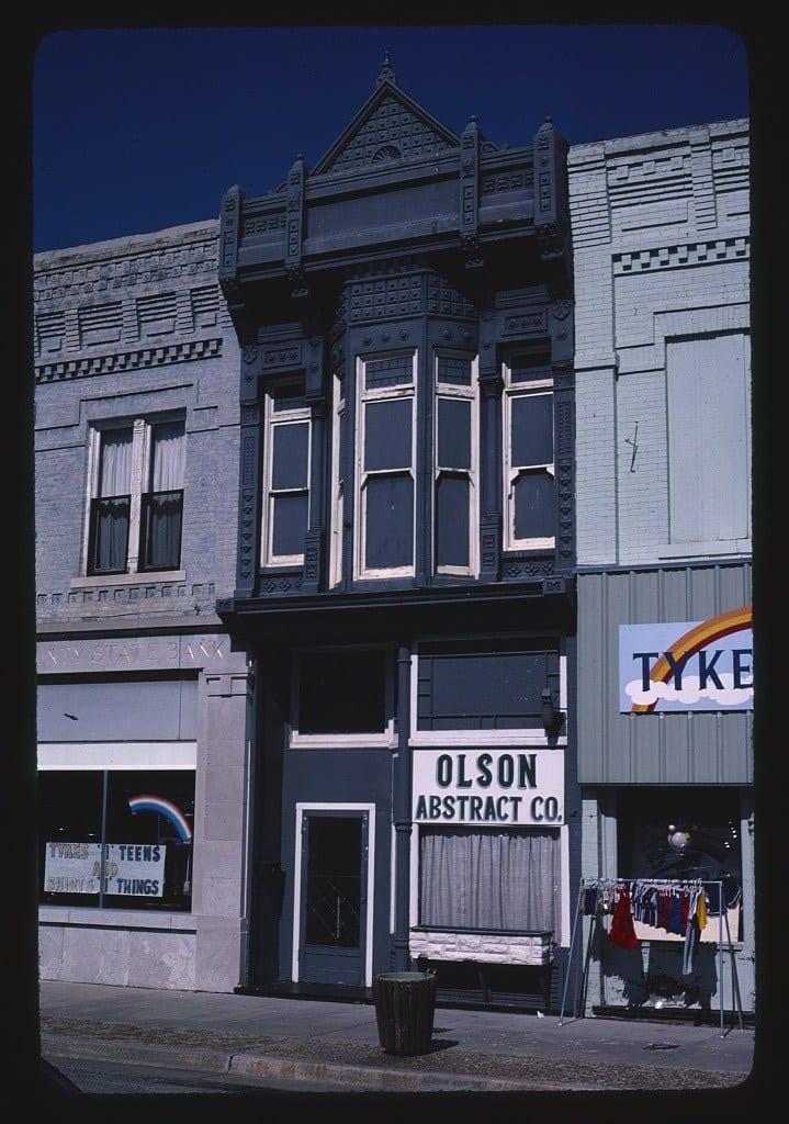 Olson Abstract Co