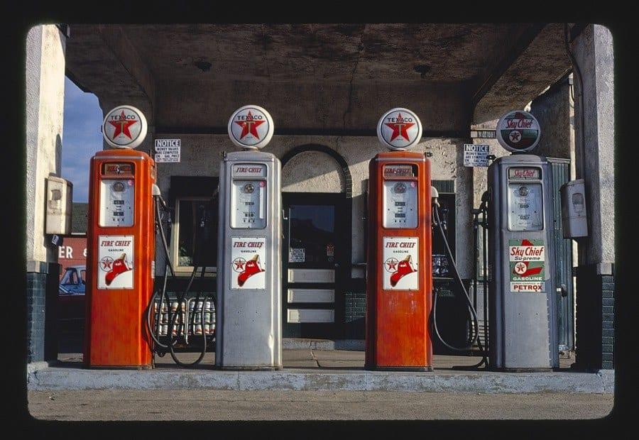 Texaco pumps, Marietta, Ohio