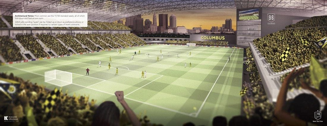 Save the Crew stadium view