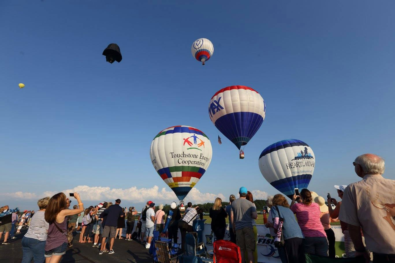 Fly Up And Away At The 2018 All Ohio Balloon Festival