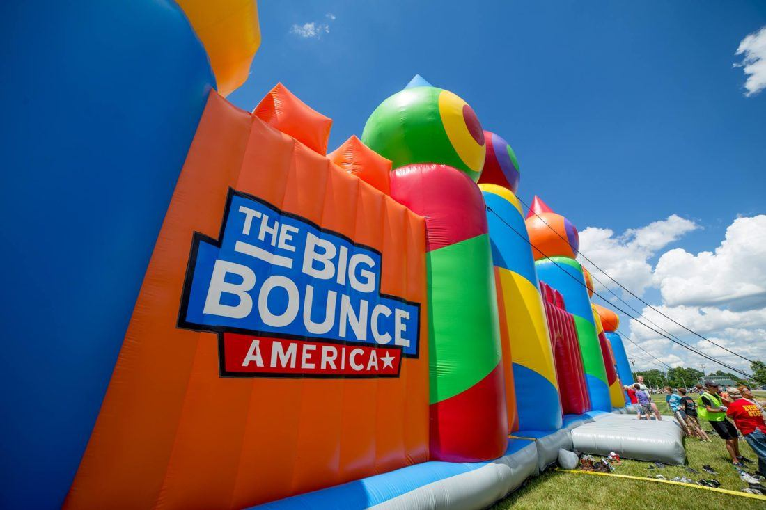 The World's Biggest Bounce House Is Headed To Grove City
