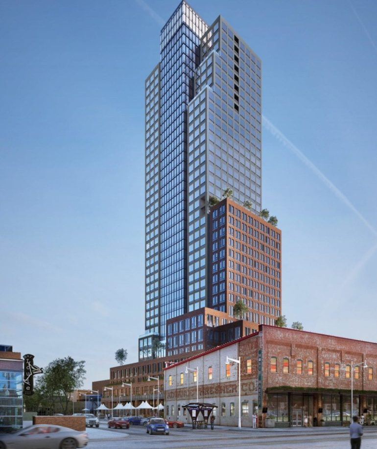 Market Tower rendering