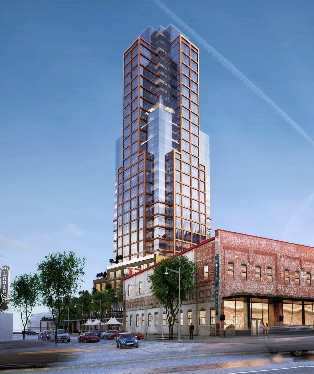 Previous Market Tower rendering