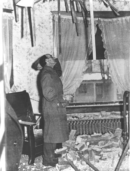 Damage from 1937 Anna, Ohio earthquake