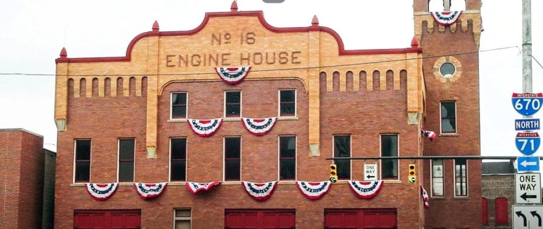 exterior of Central Ohio Fire Museum