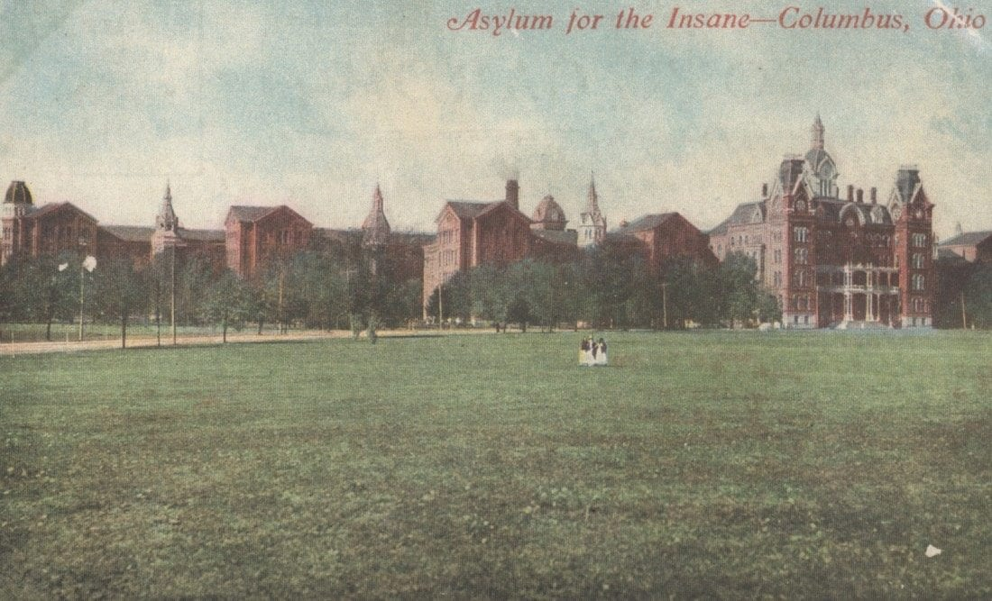 Asylum for the Insane, Columbus, Ohio
