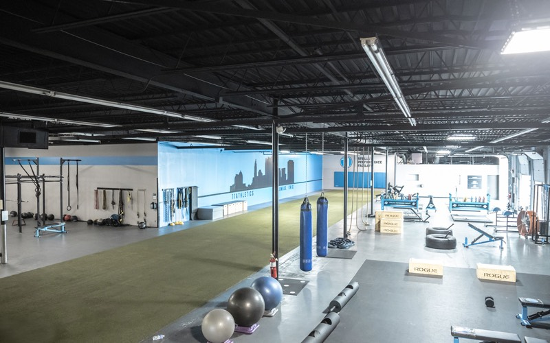 11 Athletics gym overview