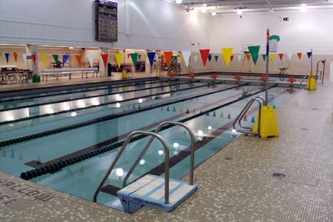 Columbus Aquatics Center pool