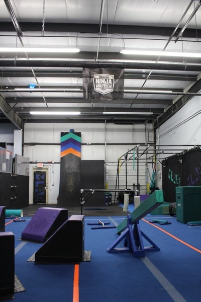 Movement Lab Ohio interior with obstacles
