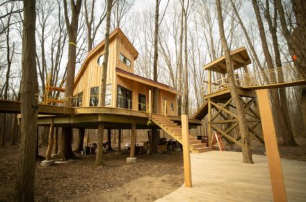 Toledo Is Getting A Super Cool Treehouse Village And We're Incredibly Jealous