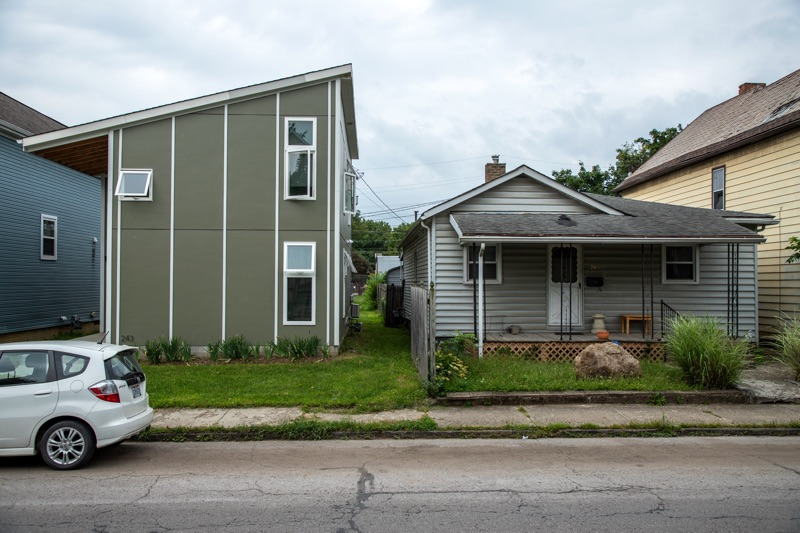 Franklinton side by side houses