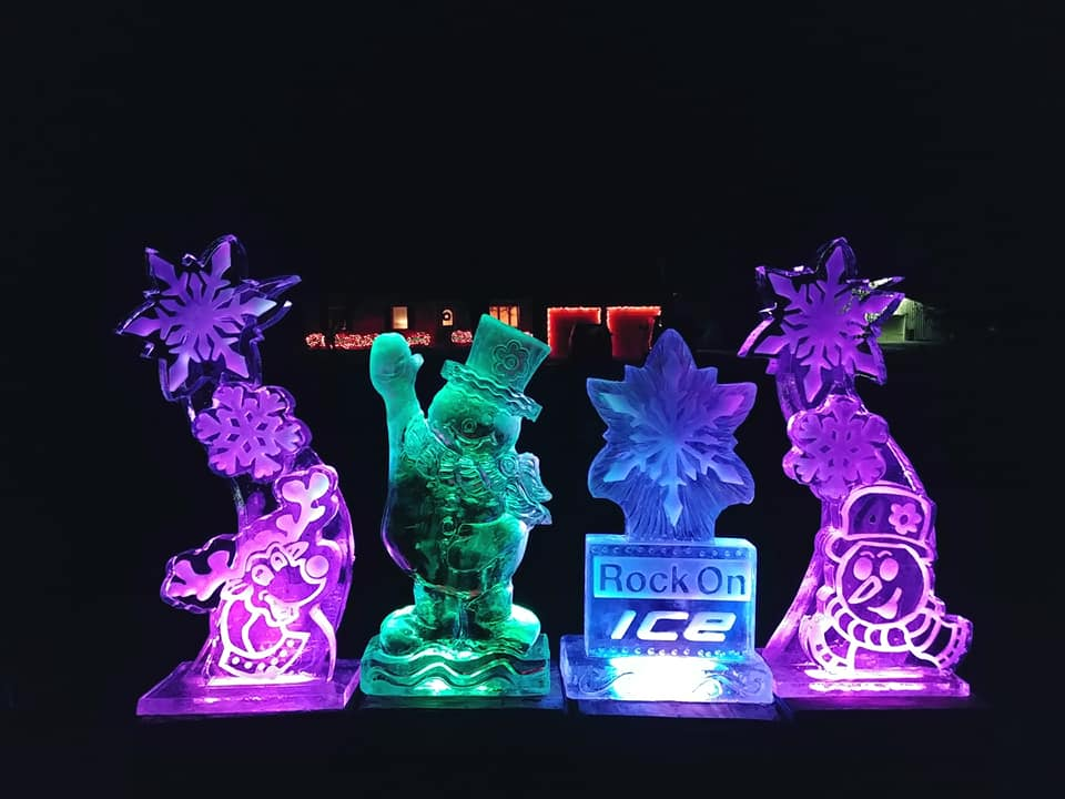 This Magical Drive-Thru Ice Sculpture Display Will Feature Over 60,000 LBS Of Ice